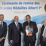 Daniel Pauly awarded the 2016 Albert Ier Grand Medal in the Science category