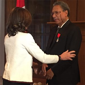 Daniel Pauly knighted by the French Government