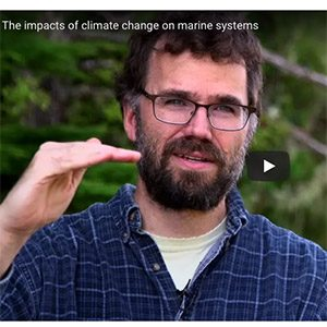 The impacts of climate change on marine systems