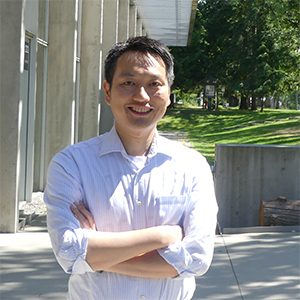 William Cheung wins Academic of the Year Award