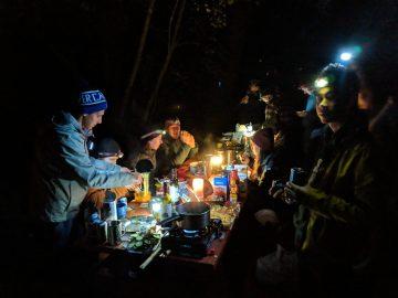 Camping out (photo © Ravi Maharaj)