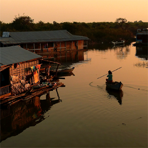 The impact of global, future change on the lives of Tonle Sap inhabitants