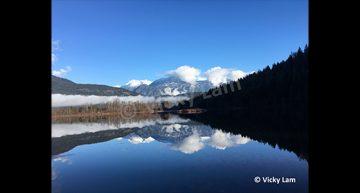 Vicky Lam – Sky, Mountains & Lake